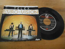 "7"" POP telex Euro-vision: 2 versions (2) canzone HANSA"