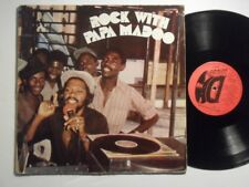 PAPA MADOO Rock With DD MUSIC LP Roots Reggae HEAR T93