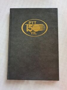 PTT 150 YIL Jahrbuch Türkei turkey Jahre Briefmarken