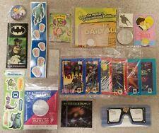 Huge Rare Cereal Premiums Lot Vintage 1990s Batman Returns Penguin marvel prize