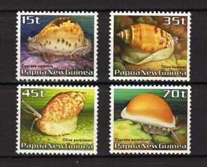 14682) PAPUA & NEW GUINEA 1986 MNH** Shells - Conchiglie