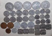 Lot 38 Netherlands Antilles Coins 1970-1985 Dutch 1 Gulden 1 2-1/2 5 10 25 Cents