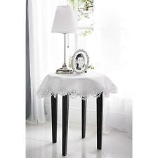 Runde Tischdecken mit Bestickung fürs Esszimmer