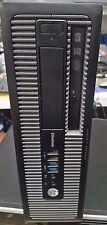 HP Elite 800 G1  Intel Core i5 4570 3.2GHz, 4GB RAM, 500 GB HDD, DVD RW SFF