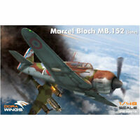 Dora Wings 48019 Bloch MB.152C.1 1:48 Plastic Model Kit