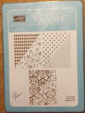STAMPIN' UP! Sizzix BIG SHOT Texturz Backgrounds #1 114512 NEW