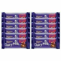 Cadbury Dairy Milk Fruit and Nut Chocolate Bar, 36g (Pack of 12) FREE SHIPPING