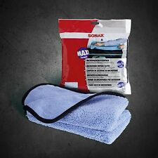 SONAX MicrofaserTrockenTuch 80x50cm Microfaser Tuch extra groß 450800