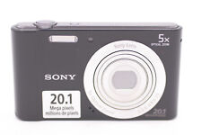 Sony Cyber-shot DSC-W800 20.1MP Digital Camera - Black