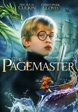 The Pagemaster / DVD Adventure Movie / Macaulay Culkin / Christopher Lloyd / NEW