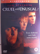 Tom Berenger Cruel e insolito ~2001 poliziesco thriller UK DVD