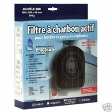 FILTRE CHARBON HOTTE SCHOLTES ARISTON INDESIT X2