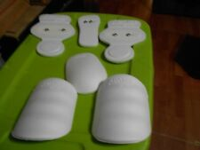 6 piece Adams Pee Wee Snap In Football Pant Pad Set youth up to 140lbs