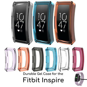 Protective TPU Cover Protector Durable Silicone Case for Fitbit Inspire Tracker