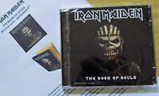 IRON MAIDEN CD  The Book Of Souls Album 2015 + PROMO Info Sheets SEALED