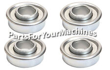 4 Flange Ball Bearings 1 18 Od X 12 Id Repl Craftsman 917377240