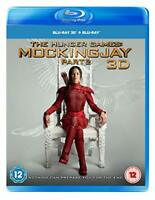 The Hunger Games: Mockingjay Part 2 3D [Blu-ray] [2018] [DVD][Region 2]