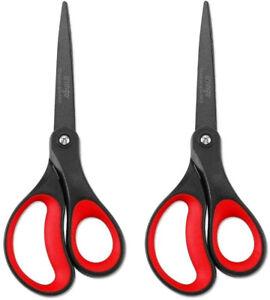 Non-Stick Scissors Stainless Steel Comfort Soft Grip