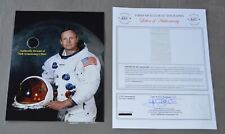 Neil Armstrong Authentic Strand of Hair + Signed Todd Mueller COA Apollo 11 Moon
