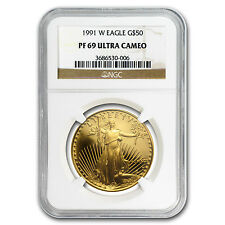 1 oz Proof Gold American Eagle PF-69 NGC (Random Year) - SKU #83511