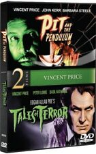 PIT AND THE PENDULUM + TALES OF TERROR New DVD Vincent Price Double Feature