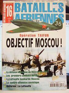 FRENCH AVIATION MAGAZINE BATAILLES AERIENNES # 16 2001 OPERATION TAIFUN