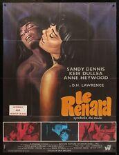 FOX French Grande movie poster 47x63 SANDY DENNIS ANN HEYWOOD LESBIAN GAY 1968