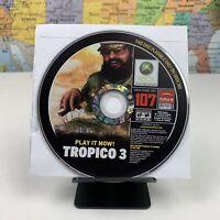 SHIPS SAME DAY RARE Official Xbox Game Disc #107 Tropico 3 Xbox 360 Tested