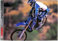 YAMAHA PW/YZ Ranges - Motorcycle Sales Brochure - 2000 -#3MC-0107002-00E