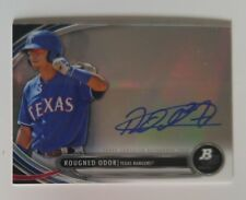 2013 Bowman Platinum Prospect  #RO Rougned Odor RC Rookie Card Auto