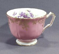 Aynsley Pink and Gold Tea Coffee Cup Pattern 2917 Fine English Bone China