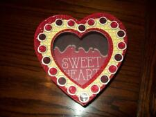 """NEW VALENTINE HEART SHAPED CONTAINER CANDY JEWELRY GIFT BOX 6"""" x 5"""" x 2 1/2"""""""