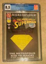 DC Reign of Superman Comic Book #501 Collectors Ed Graded CGC 8.5 6/93 June 1993
