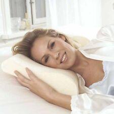 Cuscino Guanciale in Memory Foam Ortopedico Relax Anatomico Onda 50x30cm