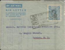 Burma AEROGRAMME-HG:FG2 RANGOON-14/JUN/48-SLOGAN CANCEL-Buy Post Office