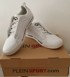 Philipp Plein Plein Sport Low Top Sneakers Gr. 45 weiß