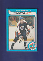 Barry Melrose RC 1979-80 O-PEE-CHEE Hockey #386 (NM)
