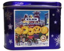 Kelsen Danish Butter Cookies from Denmark 5 LB