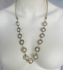 Leather Pearl Strand/String Fashion Necklaces & Pendants