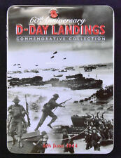 2004 60th Anniversary D-Day Landings Commemorative 3 Coin Silver Proof Medal Set