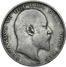 More details for 1903 halfcrown - edward vii british silver coin - rare