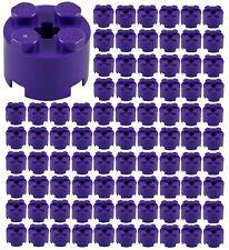 ☀️100x NEW LEGO 2x2 DARK PURPLE ROUND Bricks (ID 3941) BULK Parts Girl Friends