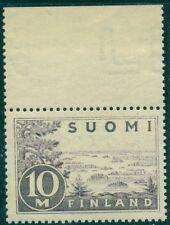 FINLAND #178 10mk gray lilac, og, NH, VF Scott $128.00
