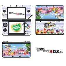 Shopkins Vinyl Skin Sticker for NEW Nintendo 3DS XL (with C Stick)