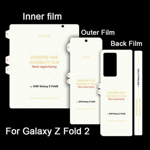 Screen Protector For Samsung Galaxy Z Fold 2 5G TPU FILM Hydrogel Cover