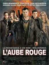 Affiche 120x160cm L'AUBE ROUGE /RED DAWN 2013 Chris Hemsworth, Josh Peck NEUVE