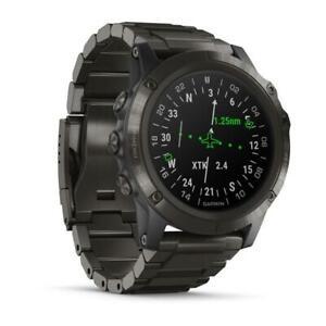 Garmin D2(TM) Delta PX - Aviator Watch With DLC Titanium Band 010-01989-32