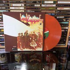 Led Zeppelin - II Orange Colored Vinyl LP Import Rare