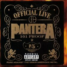 Pantera - Official Live: 101 Proof CD NEW/SEALED