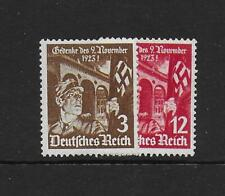 1935 Germany 12th Anniversary 1st Hitler Putsch SG595-596 heavy mounted mint